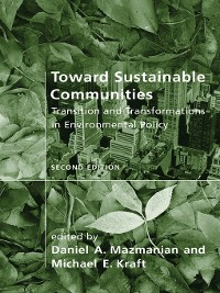 Cover Toward Sustainable Communities