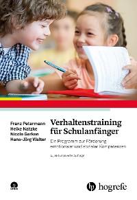 Cover Verhaltenstraining für Schulanfänger