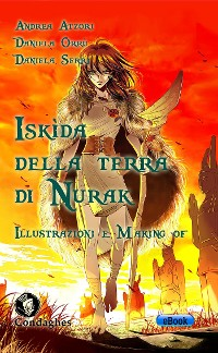 Cover Iskìda della Terra di Nurak – Illustrazioni e Making of