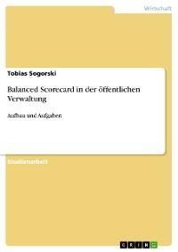 Cover Balanced Scorecard in der öffentlichen Verwaltung