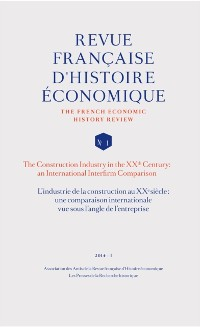 Cover L'industrie de la construction au XXe siecle: une comparaison internationale vue sous l'angle de l'e