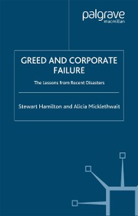 Cover Greed and Corporate Failure