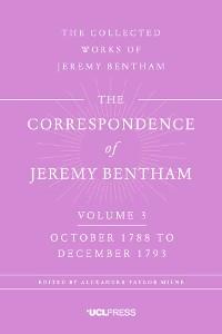 Cover The Correspondence of Jeremy Bentham, Volume 4