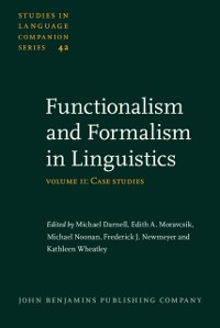 Cover Functionalism and Formalism in Linguistics