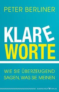 Cover Klare Worte