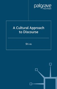 Cover A Cultural Approach to Discourse
