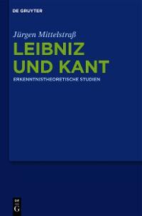 Cover Leibniz und Kant