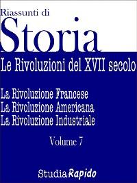 Cover Riassunti di Storia - Volume 7