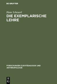 Cover Die exemplarische Lehre