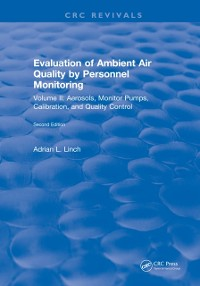 Cover Evaluation Ambient Air Quality By Personnel Monitoring