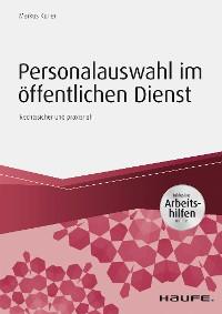 Cover Personalauswahl im öffentlichen Dienst - inkl. Arbeitshilfen online