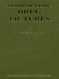Cover Homoeopathic Drug Pictures