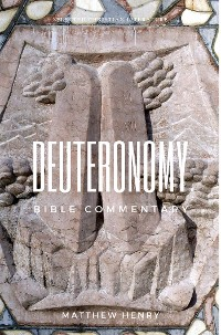 Cover Deuteronomy - Bible Commentary