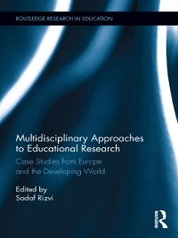 Cover Multidisciplinary Approaches to Educational Research