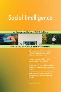 Cover Social Intelligence A Complete Guide - 2020 Edition