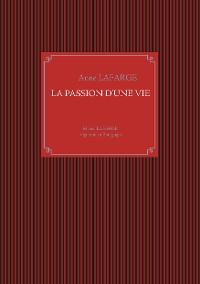 Cover La passion d'une vie