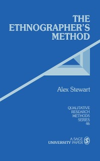 Cover The Ethnographer's Method