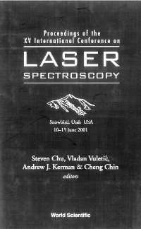 Cover Laser Spectroscopy - Proceedings Of The Xv International Conference