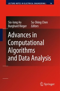 Cover Advances in Computational Algorithms and Data Analysis