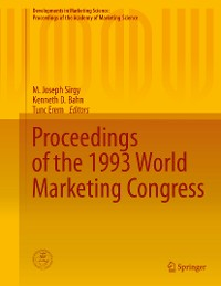 Cover Proceedings of the 1993 World Marketing Congress