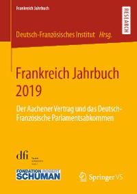 Cover Frankreich Jahrbuch 2019