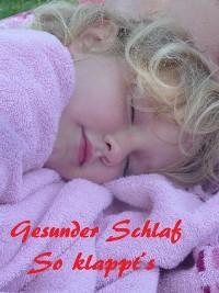 Cover Gesunder Schlaf! So klappt's!