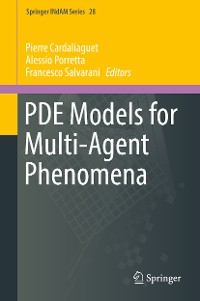Cover PDE Models for Multi-Agent Phenomena