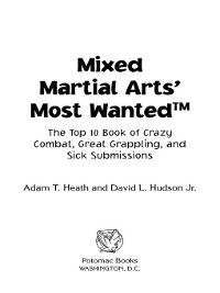 Cover Mixed Martial Arts' Most Wanted™