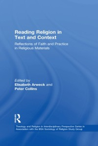 Cover Reading Religion in Text and Context