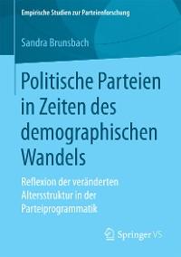 Cover Politische Parteien in Zeiten des demographischen Wandels