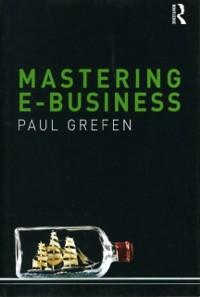Cover Mastering e-Business