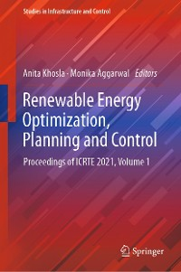 Cover Renewable Energy Optimization, Planning and Control