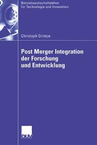 Cover Post Merger Integration der Forschung und Entwicklung