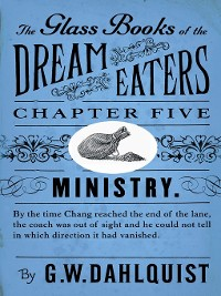 Cover The Glass Books of the Dream Eaters (Chapter 5 Ministry)