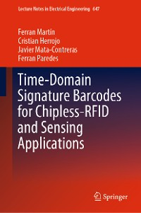 Cover Time-Domain Signature Barcodes for Chipless-RFID and Sensing Applications
