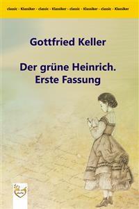 Cover Der grüne Heinrich. Erste Fassung