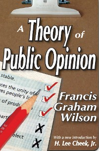 Cover A Theory of Public Opinion