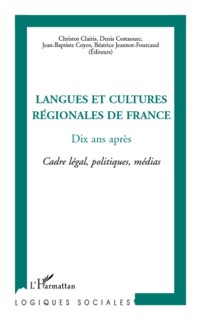 Cover Langues et cultures regionalesde France