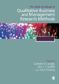 Cover The SAGE Handbook of Qualitative Business and Management Research Methods