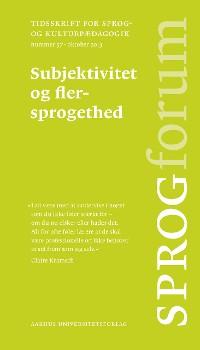 Cover Subjektivitet og flersprogethed