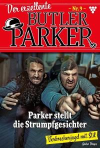 Cover Der exzellente Butler Parker 9 – Kriminalroman