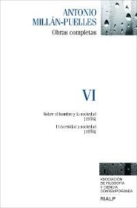 Cover Millán-Puelles. VI. Obras completas