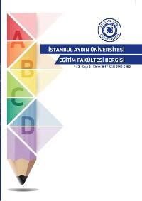 Cover ISTANBUL AYDIN UNIVERSITESI EGITIM FAKULTESI DERGISI