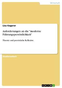"""Cover Anforderungen an die """"moderne Führungspersönlichkeit"""""""