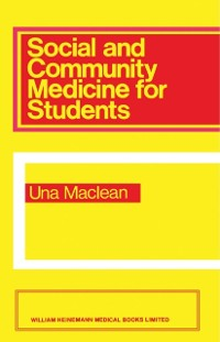 Cover Social and Community Medicine for Students