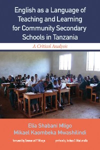Cover English as a Language of Teaching and Learning for Community Secondary Schools in Tanzania