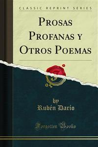 Cover Prosas Profanas y Otros Poemas