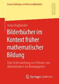 Cover Bilderbücher im Kontext früher mathematischer Bildung