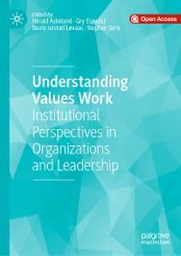 Cover Understanding Values Work