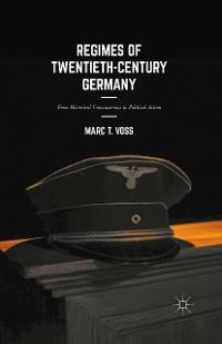 Cover Regimes of Twentieth-Century Germany